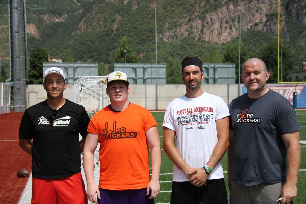 kicking camp in italy